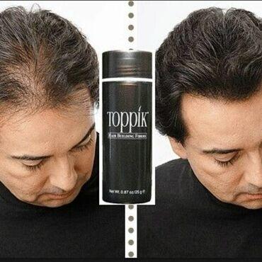 Загуститель для волос Топпик – это 100% натуральный продукт. Кератинов