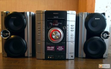 музыкальный центр sony mhc-rv22 состояние нового. все работает. Blueto в Бишкек