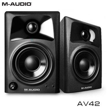 Мониторы студийные ОписаниеM-Audio Studiophile AV42 – это активные