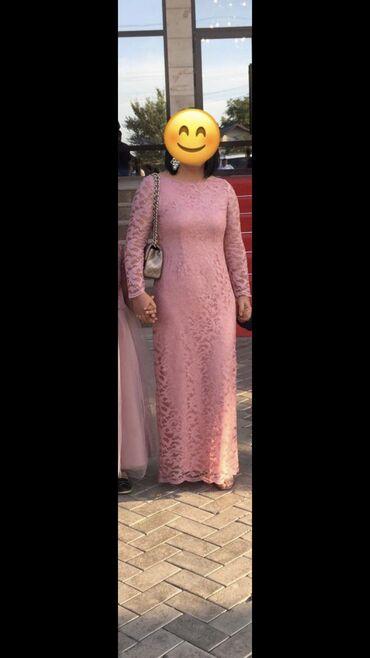 вечернее платье в горошек в Кыргызстан: Вечернее платье сшитое на заказ гипюр, подклад шёлкнадето всего