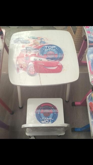 uşaq masaları - Azərbaycan: Usaq masa desti 2- 6 yas60 azn