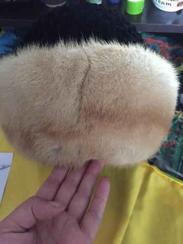Головной-убор-норковые - Кыргызстан: Срочно Продаю норковую шабку отдам за 800 сом окончательно