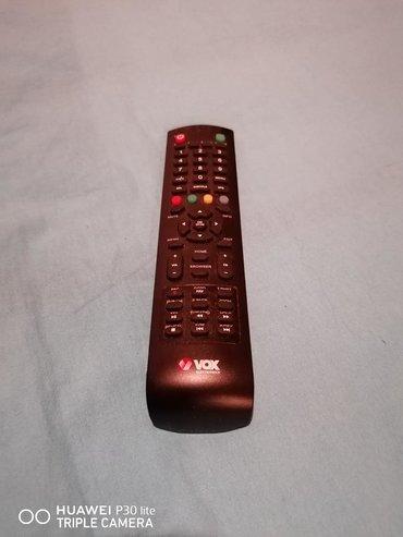 TV i video   Backa Palanka: Prodajem original daljinski za vox tv bukvalno kao nov.Backa Palanka