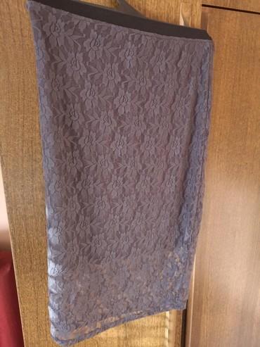 Duzina struk suknja - Srbija: Cipkana suknja sa postavom, univerzalne velicine, rasteze se. Struk 35