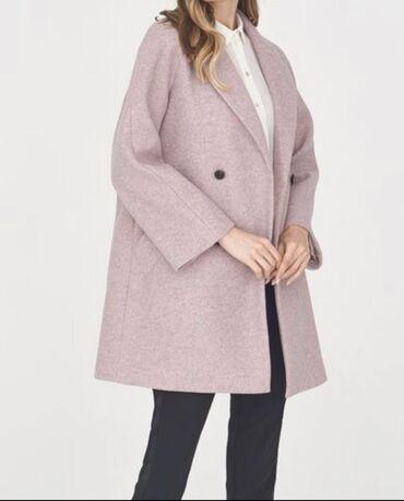 бренды классической мужской одежды в Кыргызстан: Классическое пальто припыленно-розового оттенка. Модель прямого