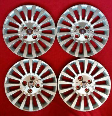 Fiat 14 fabricke za punta na sraf crveni znak. Na svakoj pise cena i