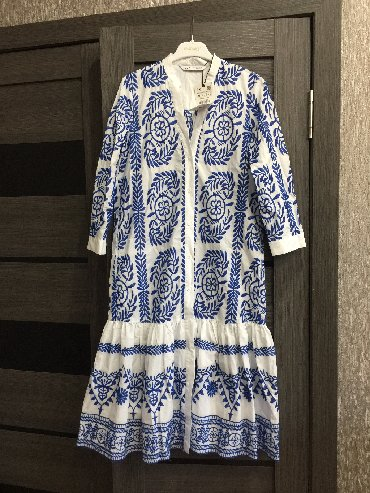 туника zara в Кыргызстан: Платье Повседневное Zara S