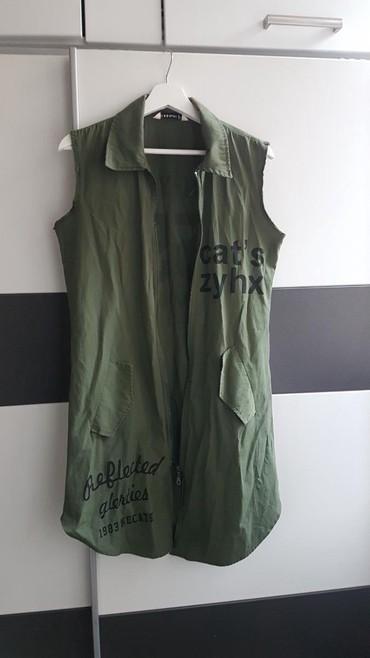 Ženska košulja- prsluk,broj 38,polovan,malo nošena - Belgrade