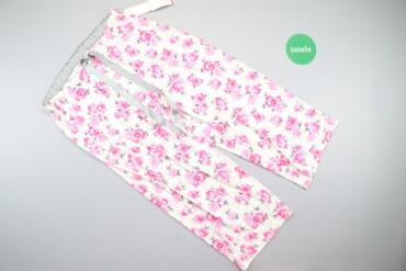 Жіночі яскраві штани з трояндами Love Affair, p. M    Довжина: 81 см Д