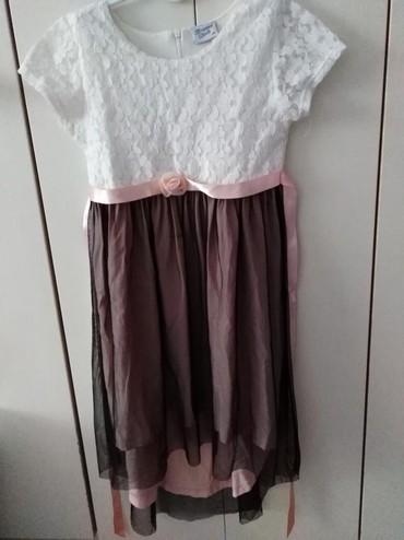 Bela haljina sa cipkom - Srbija: Haljina (breeze) vel 134Haljina sarena bez rukava (breeze) vel