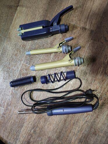 Спиральная плойка - Кыргызстан: Мультистайлер Philips HP4698/10В комплекте щипцы для крупных локонов