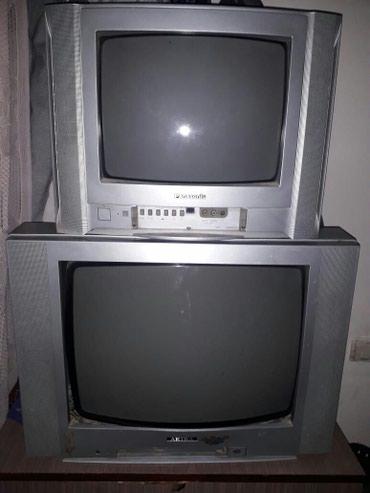 Bakı şəhərində Işlek veziyyetde olan 2 televizor.pultlarida var.ikisinide alana