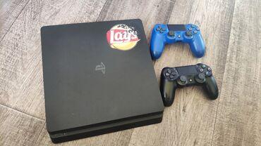 джойстики kungber в Кыргызстан: PlayStation 4 Slim 500 GB. Приставка домашняя, в отличном состоянии