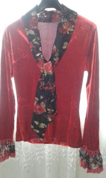 Женский-пиджак-из-трикотажа - Кыргызстан: Продаю шикарный красивый яркий модный костюм Турция фирма Polen Poe из