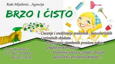 Pomoć u kući i čišćenje | Srbija: Usluge odrzavanja