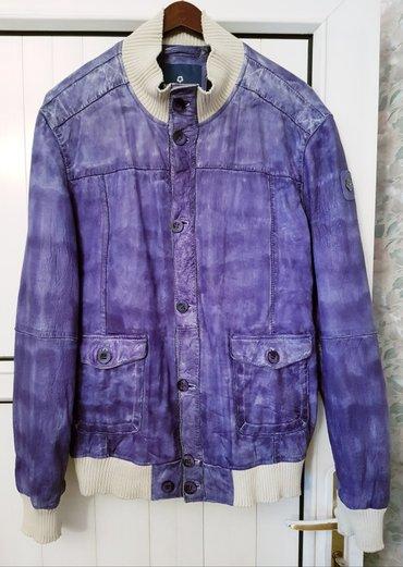 """куртка мужская """"milestone"""" германия оригинал, натуральная кожа, цвет ф в Бишкек"""