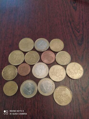 Спорт и хобби - Бакай-Ата: Продаю монетки 20 cent euro  2002-года Германия Цена 2500