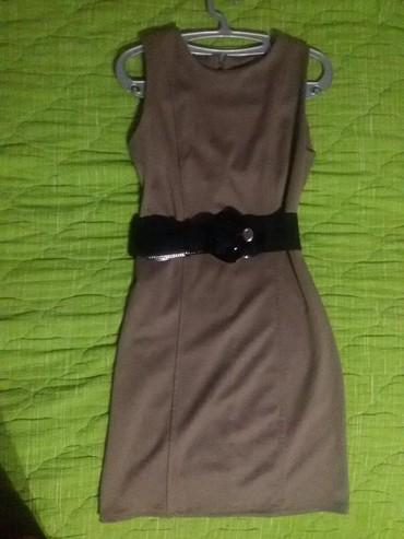 Kvalitetna haljina, pojas gratis!! M/L veličina, dužina malo iznad - Belgrade