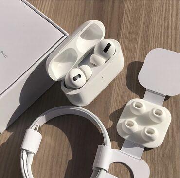 bluetooth наушники apple в Кыргызстан: Наушники Apple Airpods PRO (Реплика 1:1) Lux КопияСамая лучшая реплика