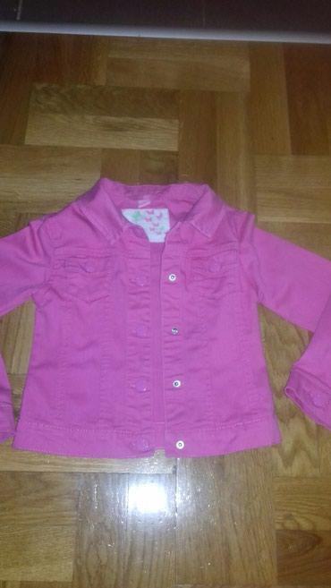Teksas roze jaknica velicina 122,po meni odgovara za dete od 4 god.Kao - Smederevo