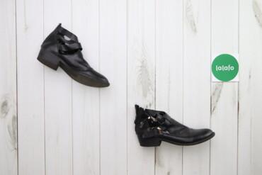 Жіночі черевики з відкритим боком, р. 39    Довжина устілки: 26 см  Ви