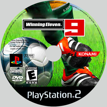 PS2 & PS1 (Sony PlayStation 2 & 1) - Azərbaycan: WinningEleven 9.Ps2 üçün.Yenidir.Sayı çoxdur