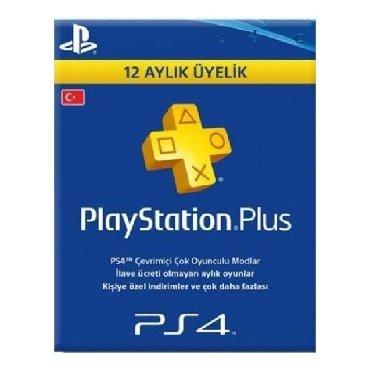 Playstation Plus 12 aylıq abunelik (TÜRK hesabı üçün).İstediyiniz