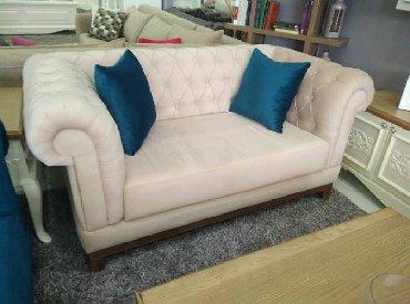 chester sofa - Azərbaycan: Mini chester divanIstenilen reng olcu ve turk kataloq parcalariyla