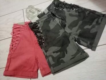Ženske kratke hlače | Arandjelovac: 1250 dinaraVel rozi - XS, S, M, LMilitari -S,M, L, XLMaterijal-mekani