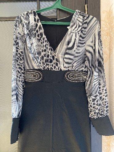 платье из шифона в Кыргызстан: Продаю турецкое вечернее платьеРазмер 40Верх из шифона, низ из атласа