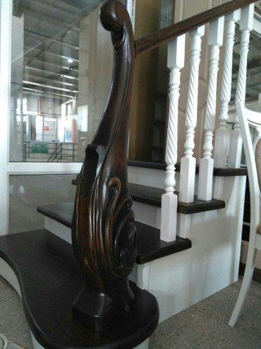 Елитные лестницы и мебели на заказ из ценных пород древесины в классич в Бишкек