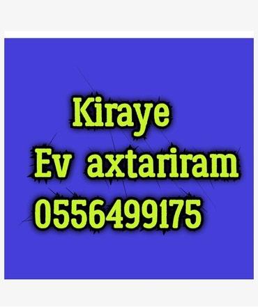 Bakı şəhərində Qaraqarayev de kiraye ev verilir bina ve mehle evi temirli ve