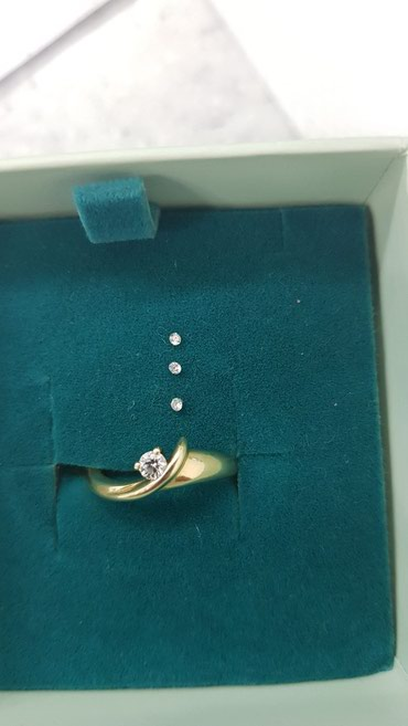 Кольцо с бриллиантом 585пр. 300$ в Бишкек