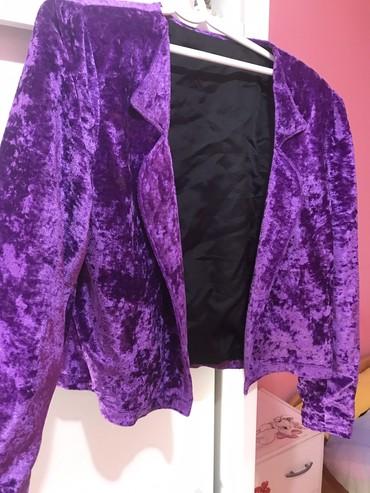 Predivna plisana jaknica ili sako za prolece nije debela za S i M - Novi Sad