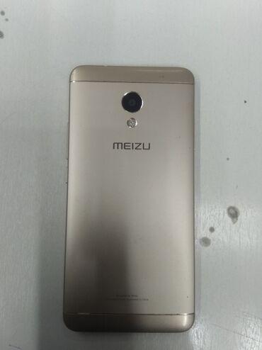 meizu m5c gold в Кыргызстан: Meizu m5s память 32гб сенсор треснутый но работает