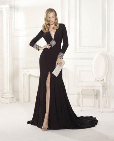 Bakı şəhərində Вечернее испанское платье. чёрное 42 размер .