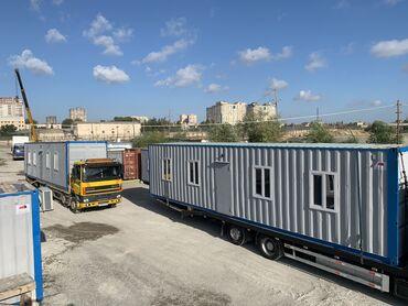 diplom ishleri - Azərbaycan: - 40ft konteyner - Divar ve tavan: Lambirin- Izolyasiya: Mineral yun-