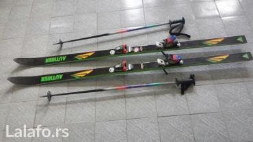 Decije skije - Srbija: Authier skije 175 cm u odlicnom stanju + stapovi