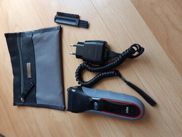 Aparati za brijanje - Srbija: Braun za brijanje aparat serija 3 sa originanim punjacem i torbicom