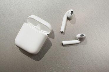 ear pods в Кыргызстан: Продаю новые air pods Доставка бесплатная