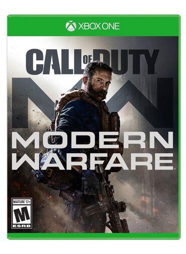 XBOX ONE üçün call of duty modern Warfare oyunu. Sony PlayStation 4