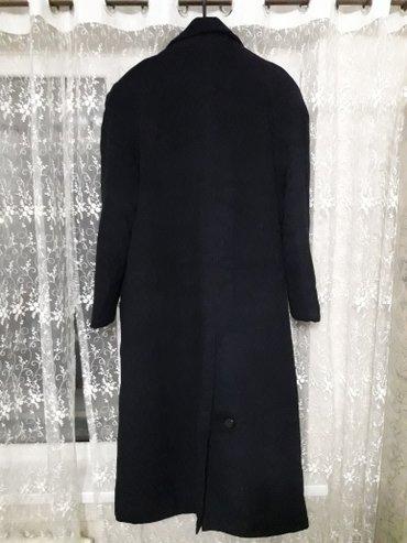 Пальто мужкое размер 54-56 темно синего цвета. размер оказался