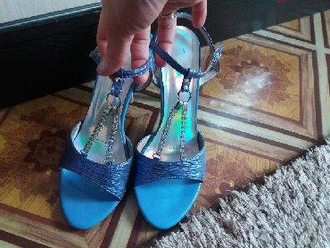 женская обувь новое в Ак-Джол: Срочно продаю босоножкилетние состояние отличное одевала 1раз на