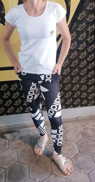 Radne pantalone - Srbija: Pantalone i majica uni velicina, majica moze biti bele ili crne boje