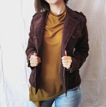 Reket - Srbija: Braon jakna, velicine S, ali ja bih rekla da je pre M jer je meni