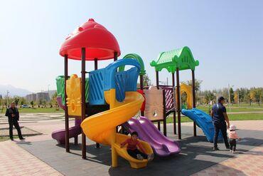 Детские площадки горки качели воркаут карусельСовременные