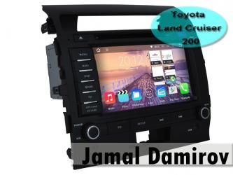 Bakı şəhərində Toyota Land Cruiser 200 üçün DVD-monitor,