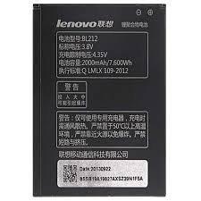 Lenovo telefonu üçün Batareya satılır.. - Bakı