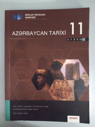 Azerbaycan tarixi 11ci sinif testi DIM. Ici seliqelidir. Yazi