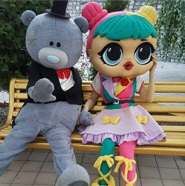 Пошив и ремонт одежды - Кыргызстан: Ростовые куклы есть на продажу и сдаётся. Шьем другие персонажи на